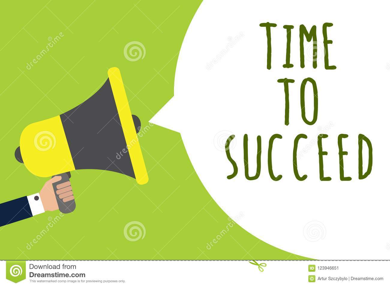 Conceptual hand writing showing Time To Succeed. Business photo showcasing Thriumph opportunity Success Achievement Achieve your g