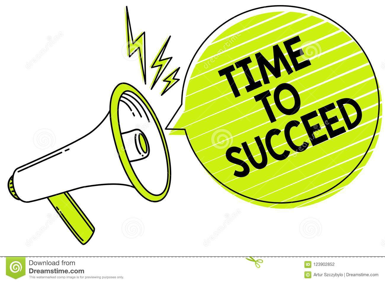 Conceptual hand writing showing Time To Succeed. Business photo text Thriumph opportunity Success Achievement Achieve your goals M