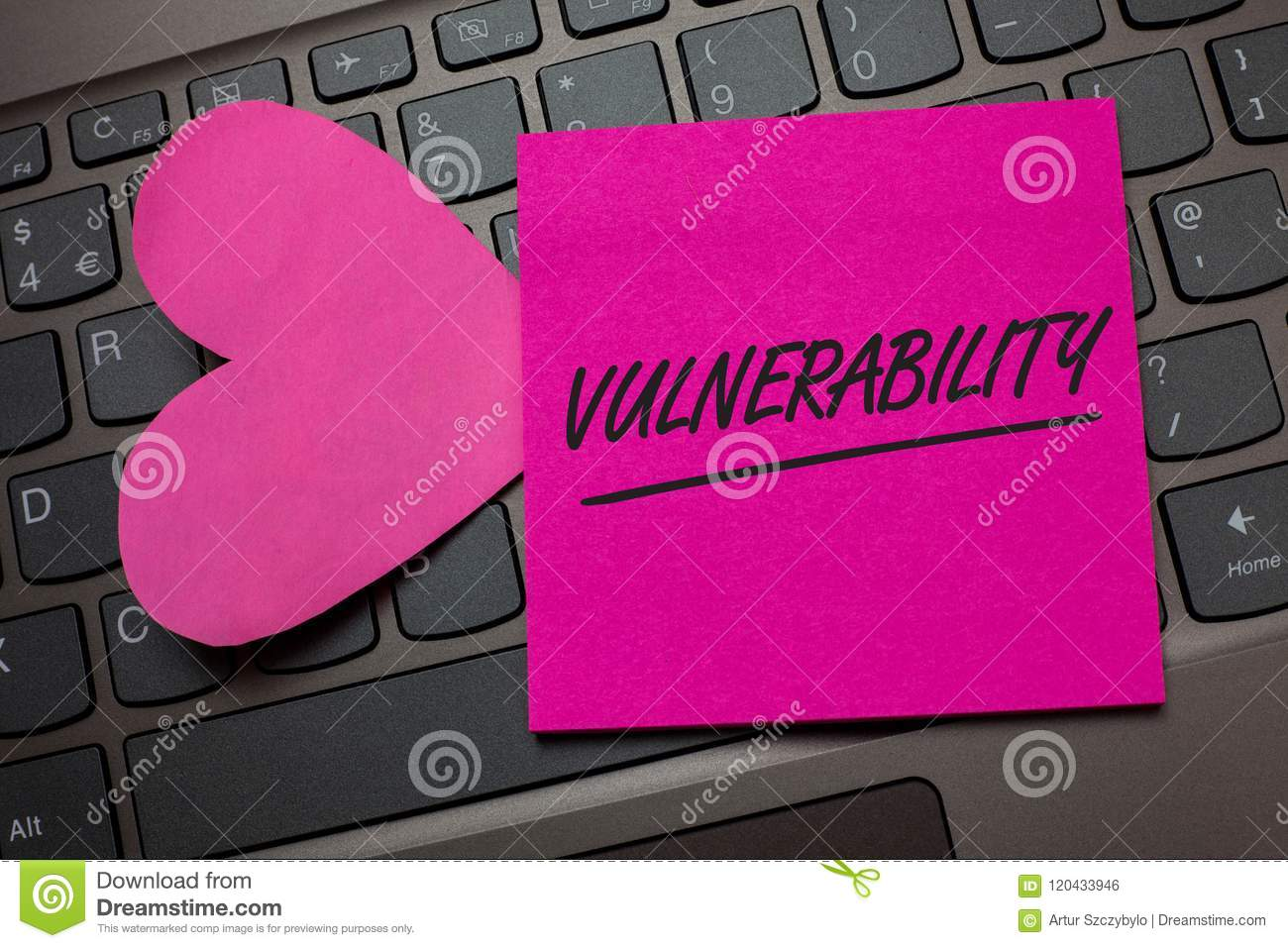 Conceptual hand writing showing Vulnerability. Business photo text Information susceptibility systems bug exploitation attacker Ke