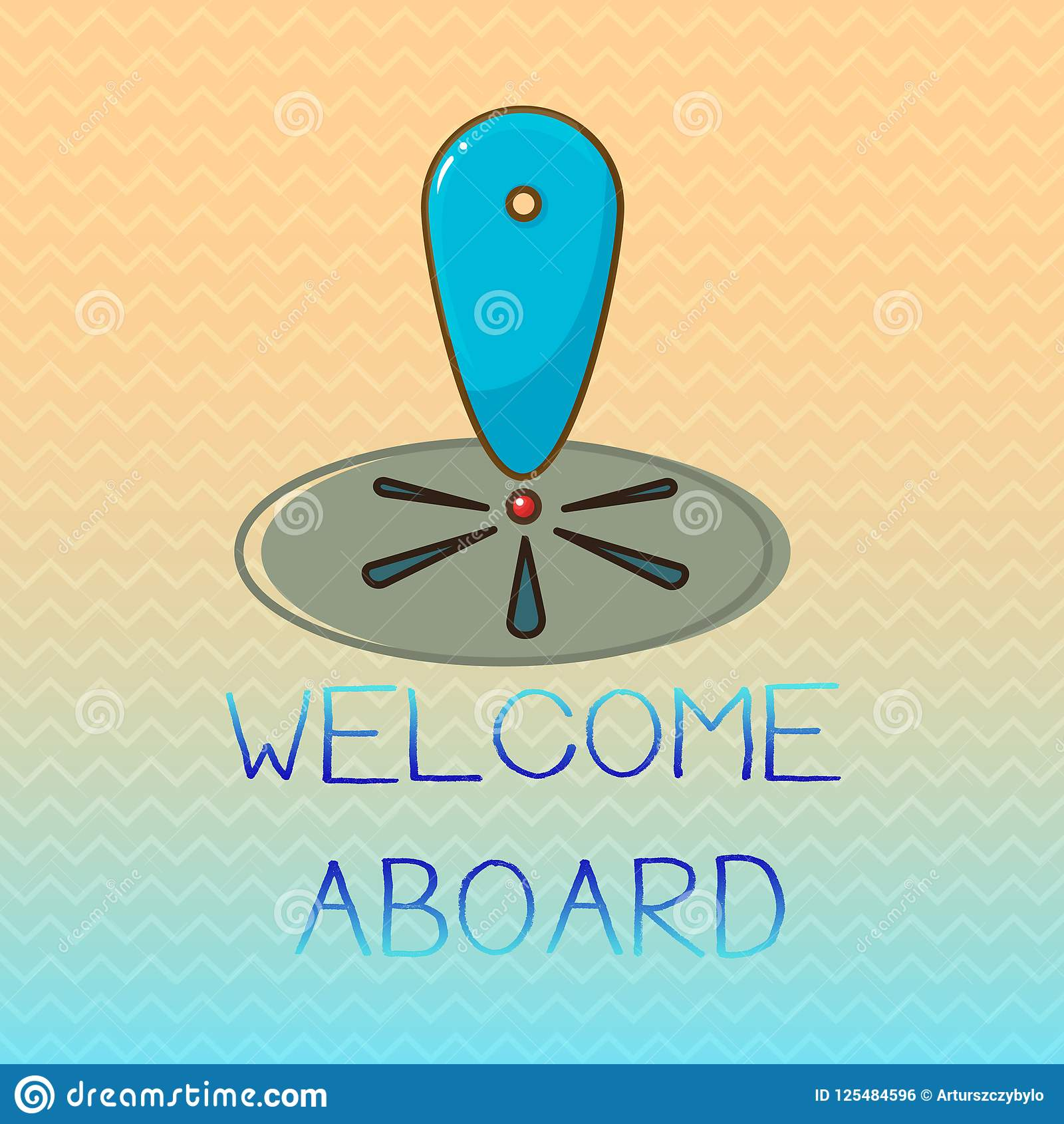 Conceptual Hand Writing Showing Welcome Aboard Business Photo