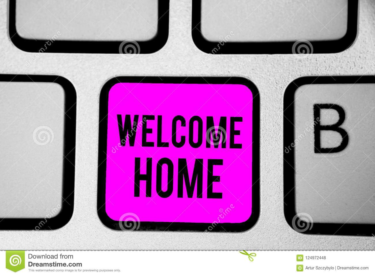 Conceptual hand writing showing welcome home business photo text download conceptual hand writing showing welcome home business photo text expression greetings new owners domicile m4hsunfo