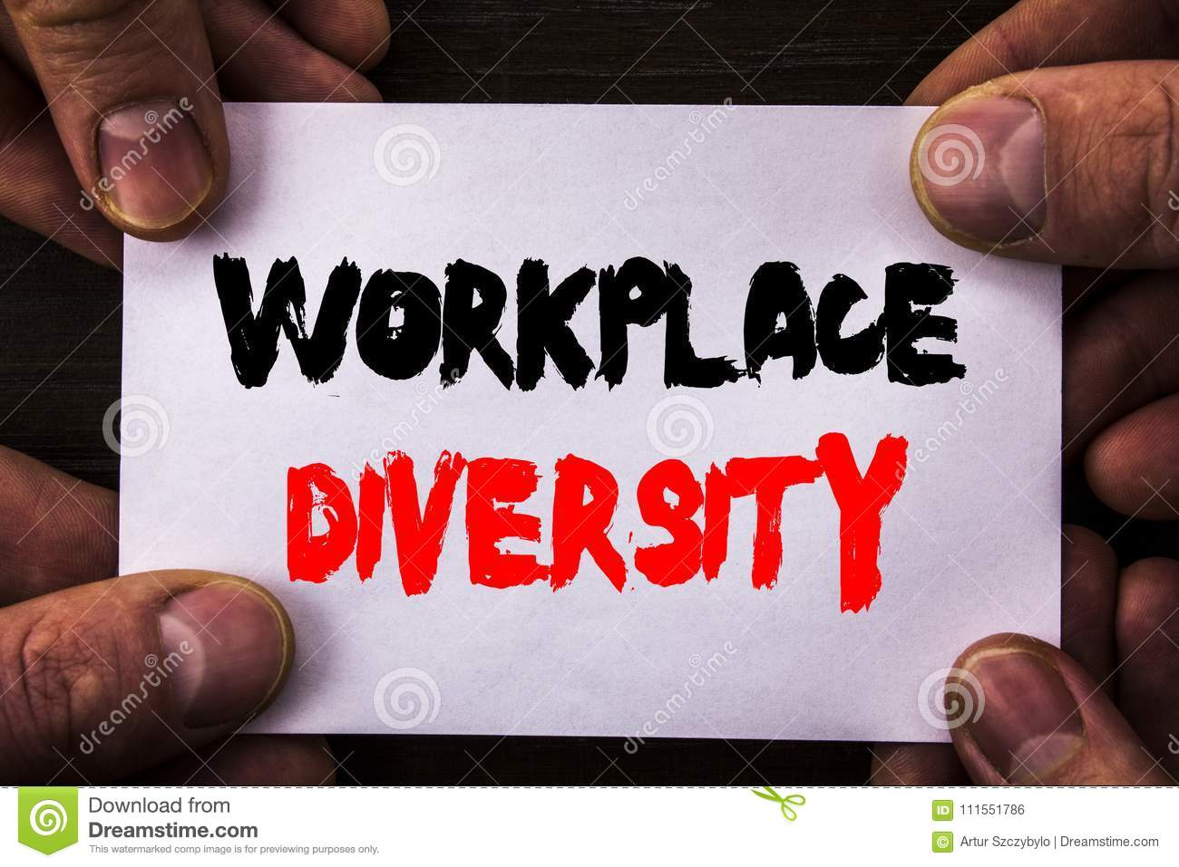 Diversity Meaning Workplace >> Conceptual Hand Writing Text Showing Workplace Diversity