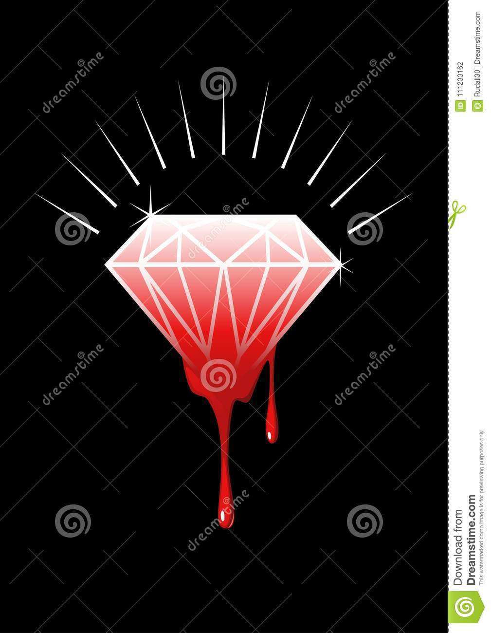 dripping perpetuation in war and africa role reflective sierra with symbolizes leone beautiful on stock congo or capitalism light surface liberia of depositphotos diamond photo the conflict sparkling blood a