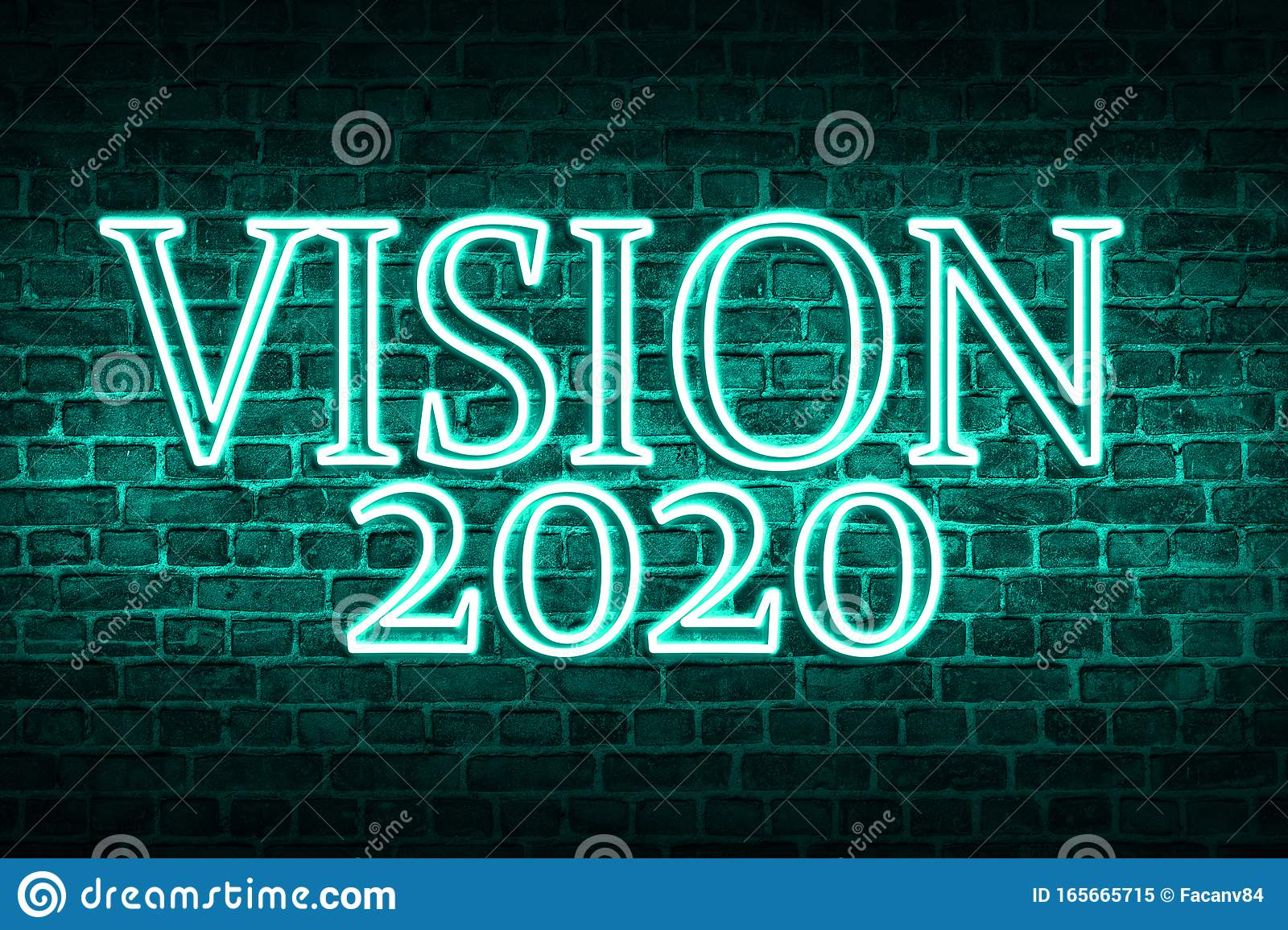 A Conceptual Message Written By The Neon Light On The Wall Shows Vision 2020 Business Motivation Inspiration Concepts Ideas Stock Image Image Of Concept Inspiration 165665715