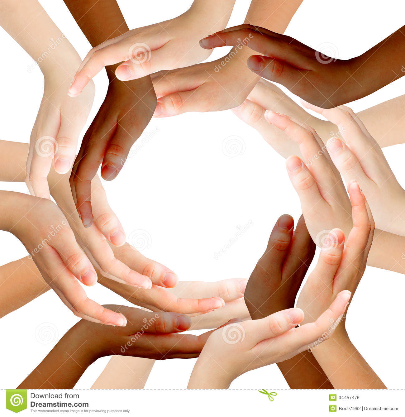 of multiracial human hands  Race And Ethnicity Hands
