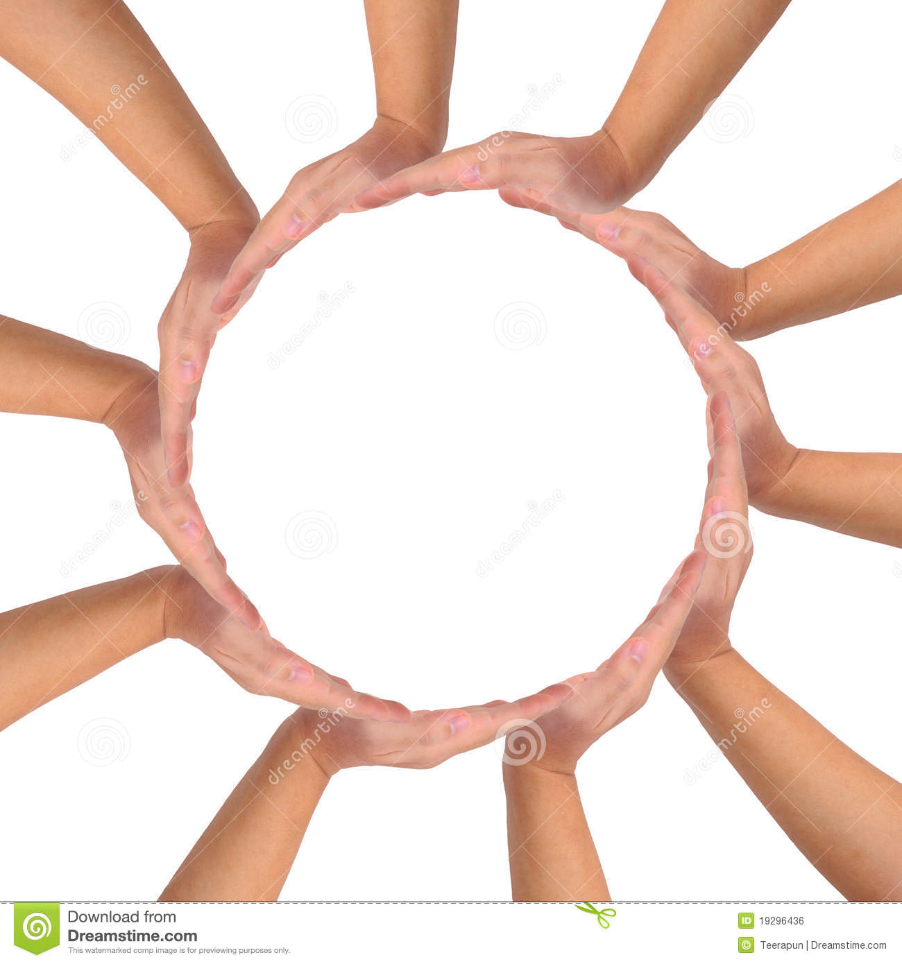 Conceptual Symbol Of Unity. Royalty Free Stock Image ...