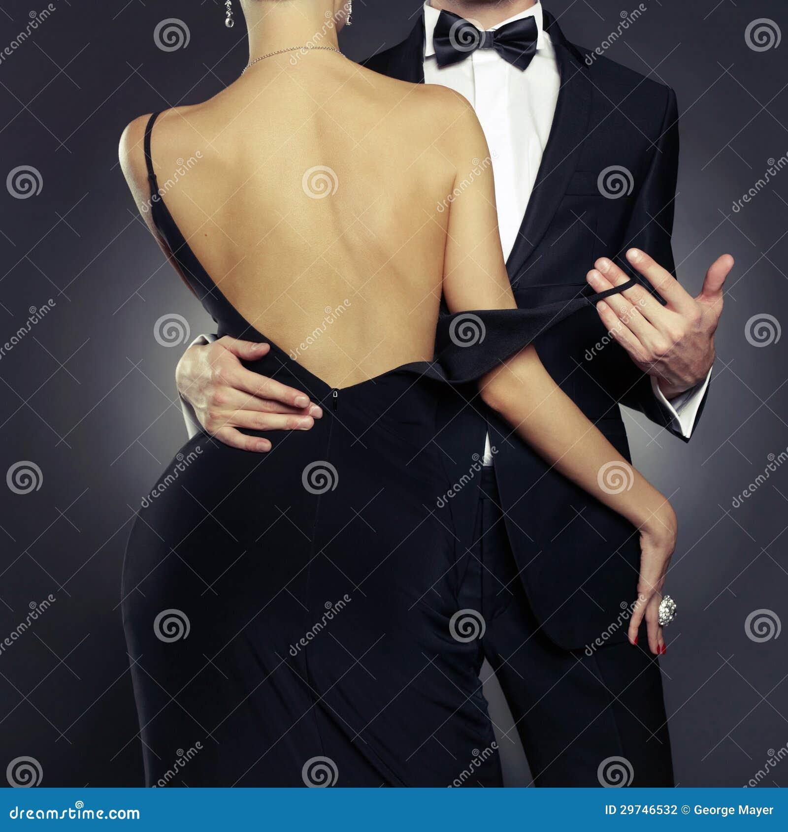 Sensueel paar