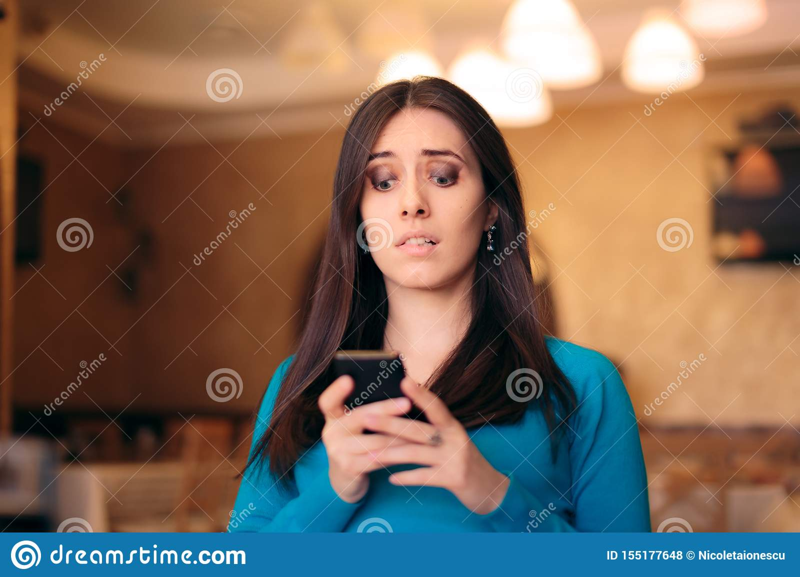 To is girl stressed a text who what Texts to