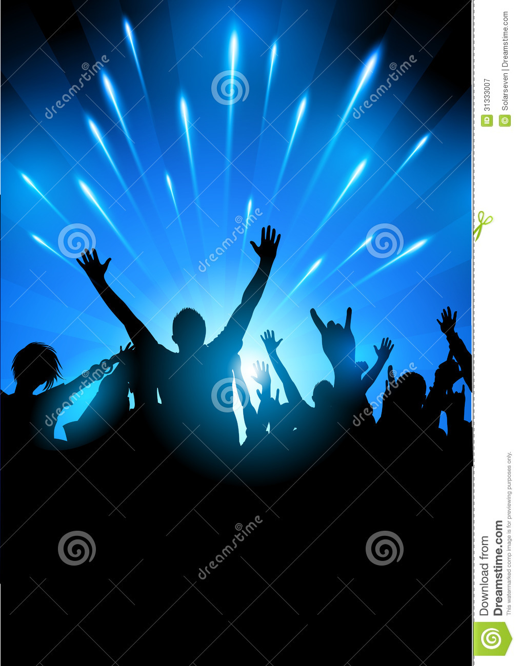 Concert Audience Vector Royalty Free Stock Photography ...