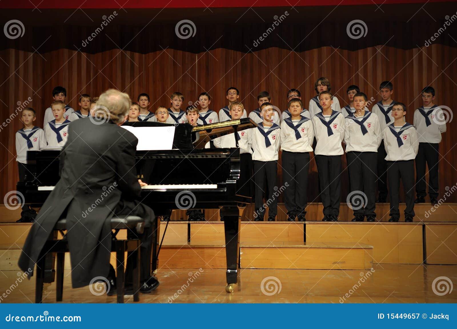 Concert of Austrian St,Florian Boy s Choir