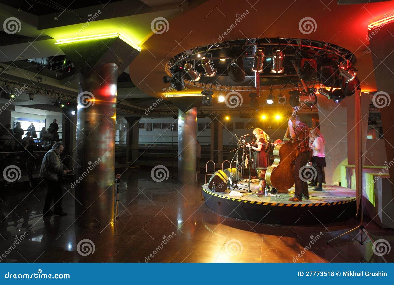 Concert de musique en direct