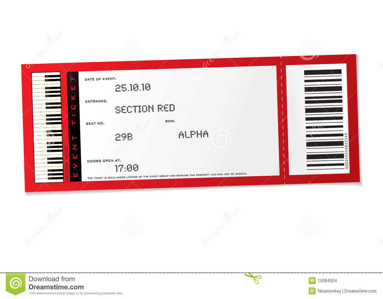 Sports Ticket Template Template Examples – Free Event Ticket Template Download