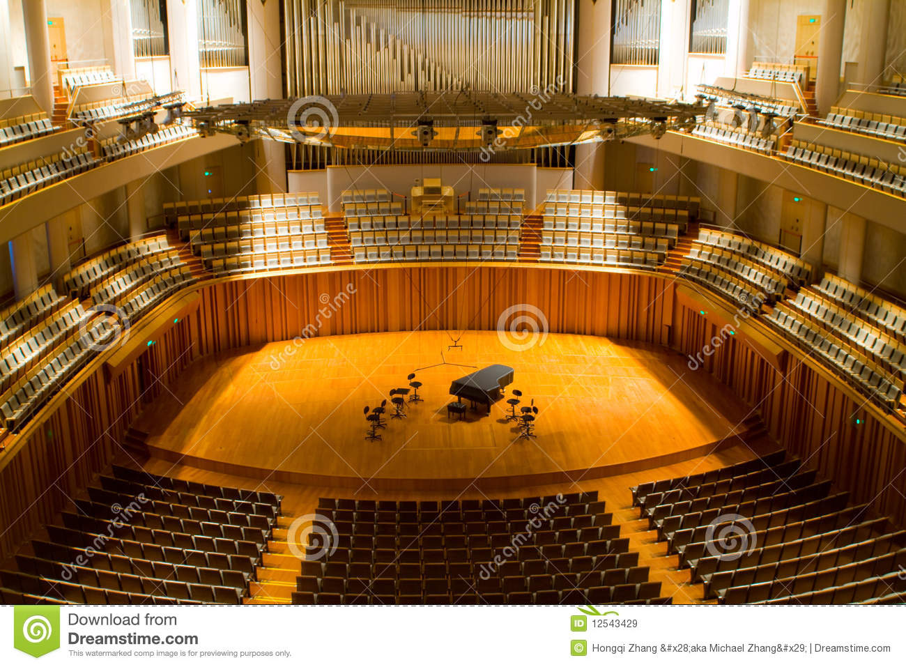 Concert hall royalty free stock images image 12543429 for 17th floor concert schedule