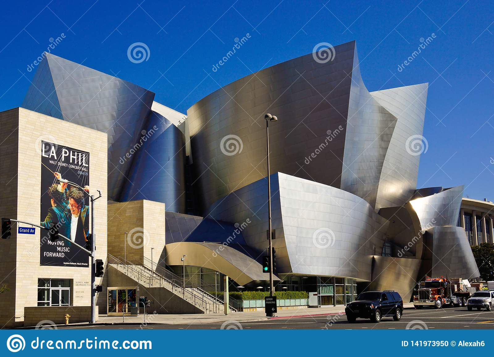 Modern Architecture Los Angeles concert hall in los angeles modern architecture ba frank
