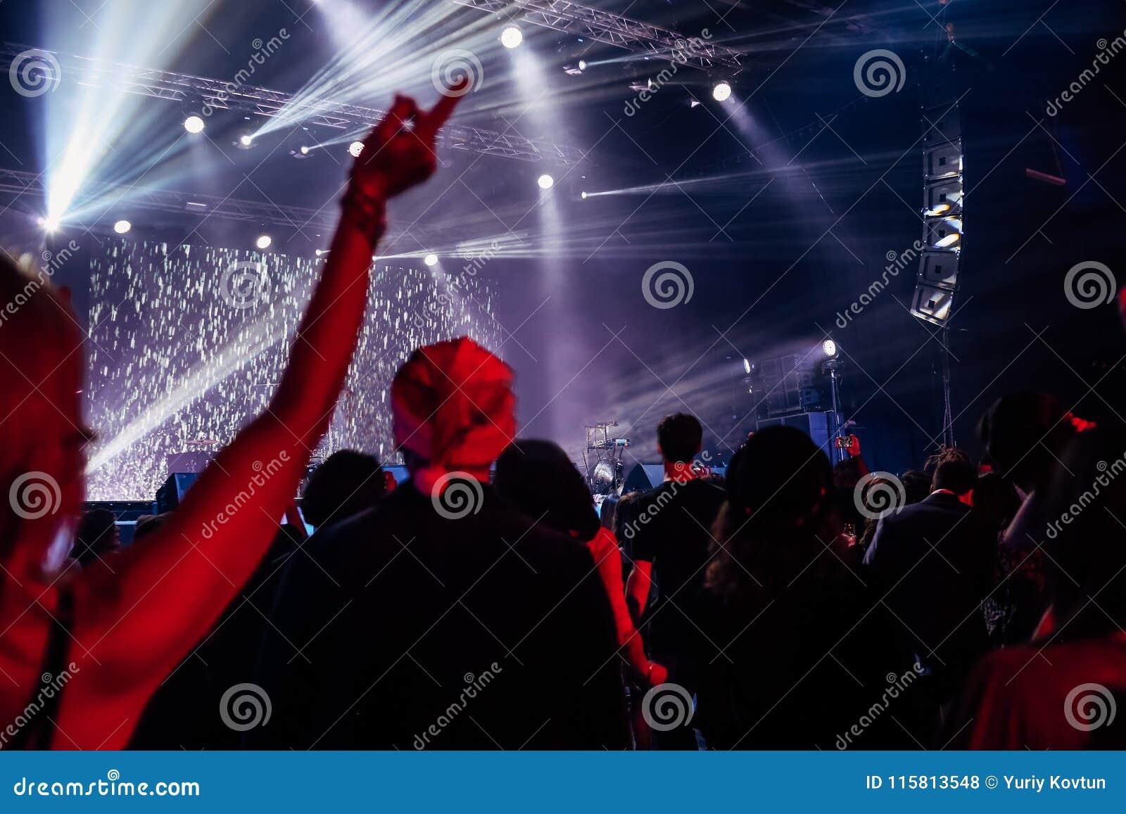 Concert musical performance show spectators fans