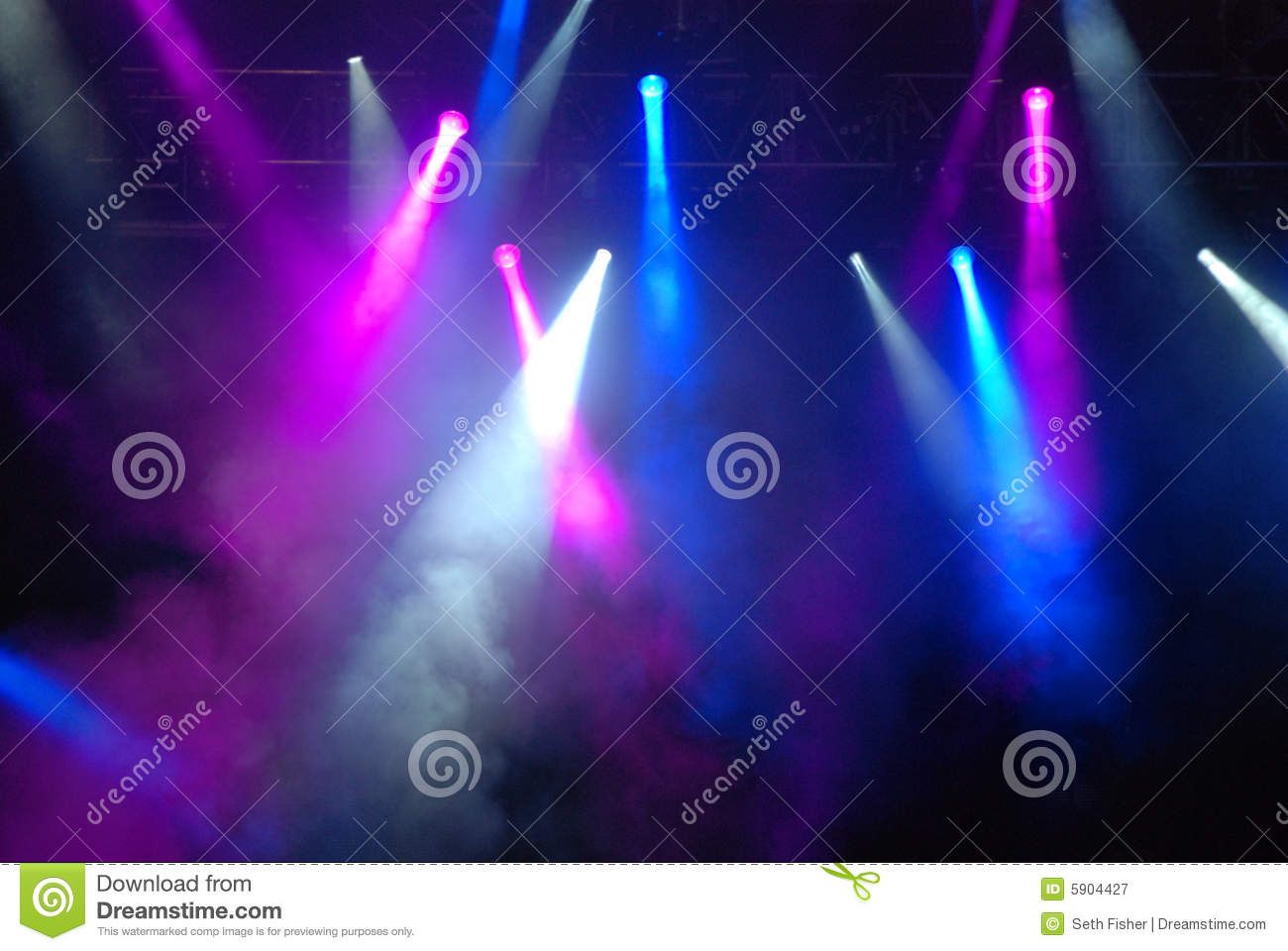 Concert Strobe Lights Royalty Free Stock Photography - Image: 5904427