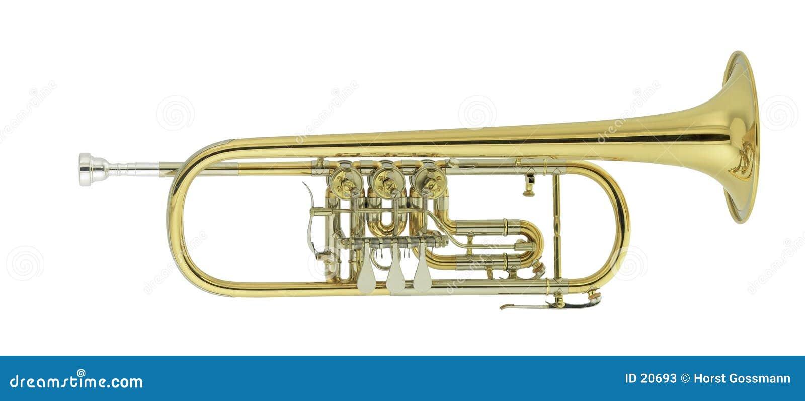 Concert trumpet