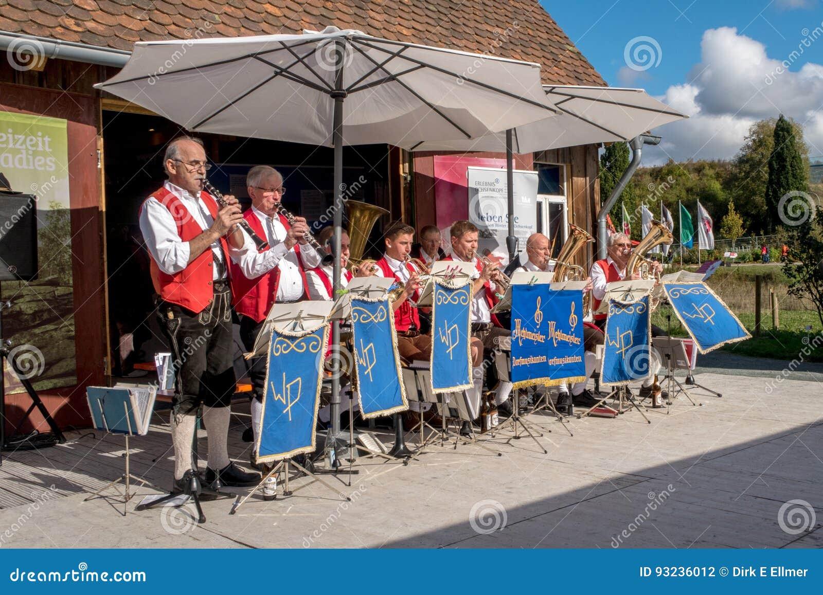 Concerto dell aria aperta del Bavarian
