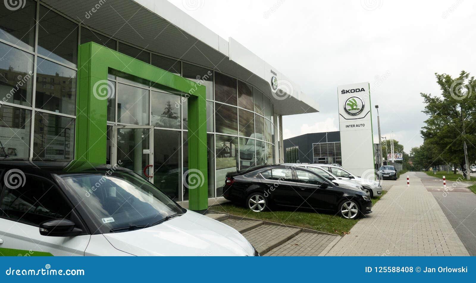 Concessionário automóvel de Skoda