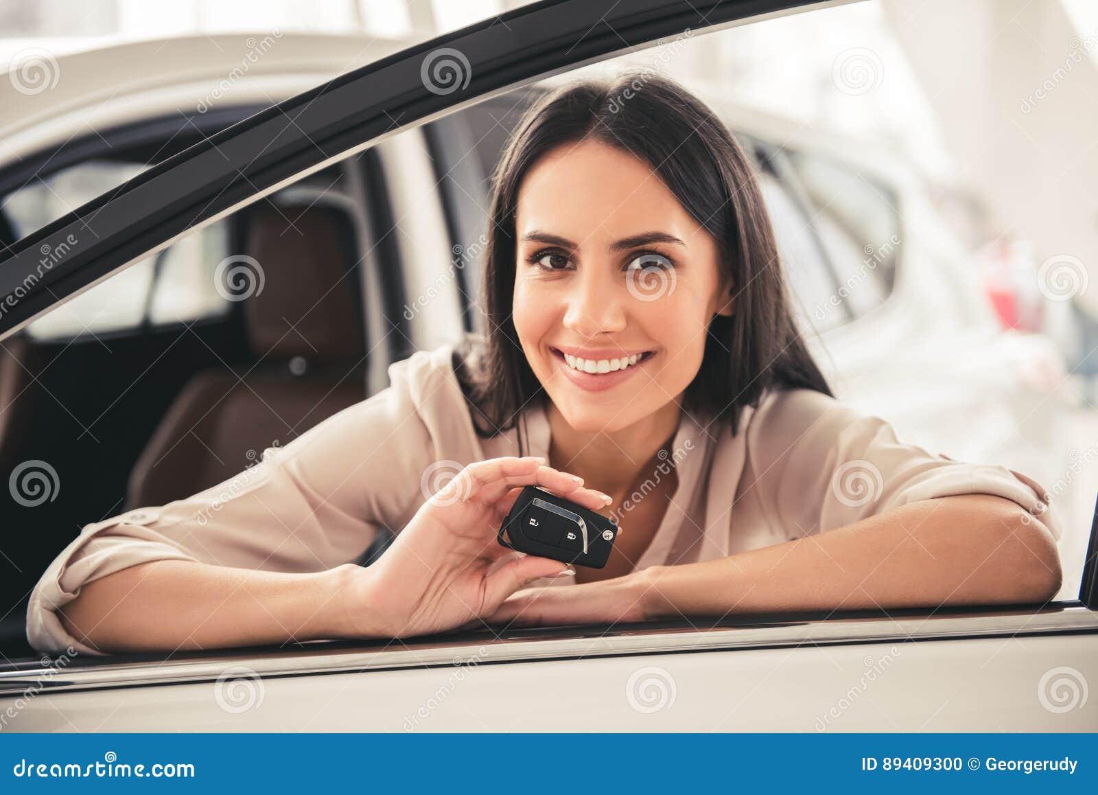 Concessionário automóvel de visita