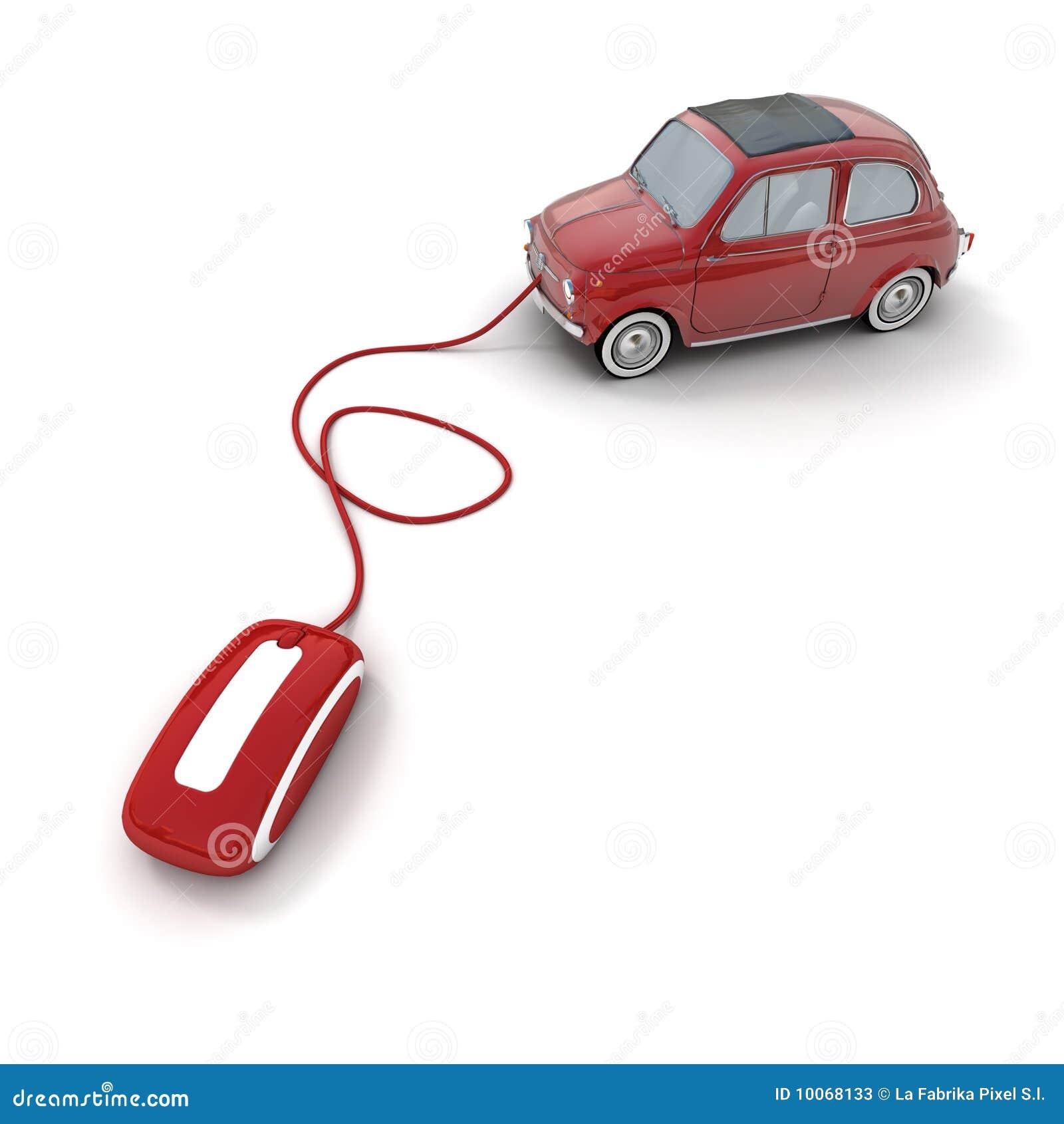 Concessionário automóvel em linha