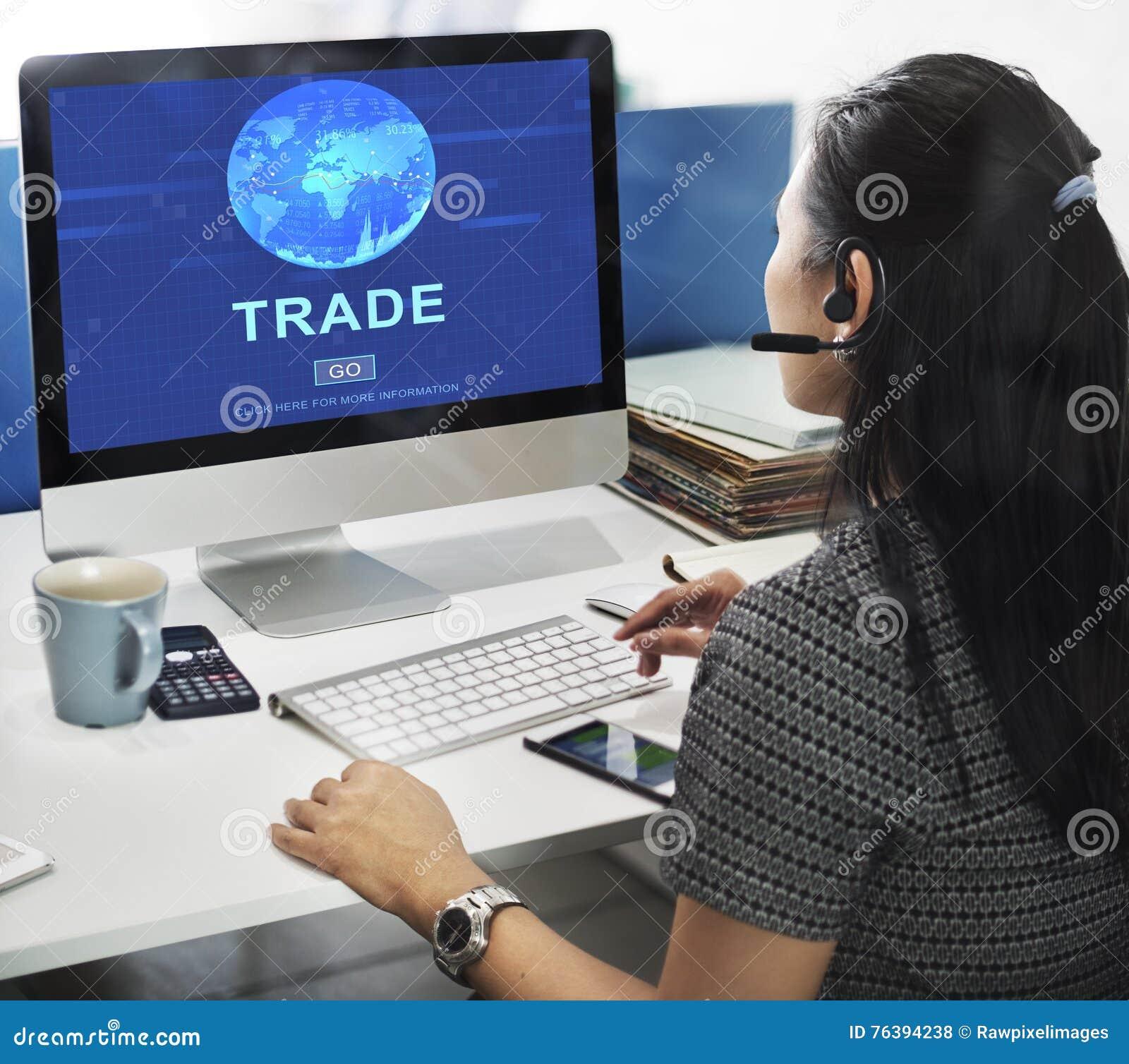 Concetto commerciale delle mercanzie di scambio di commercio di baratto