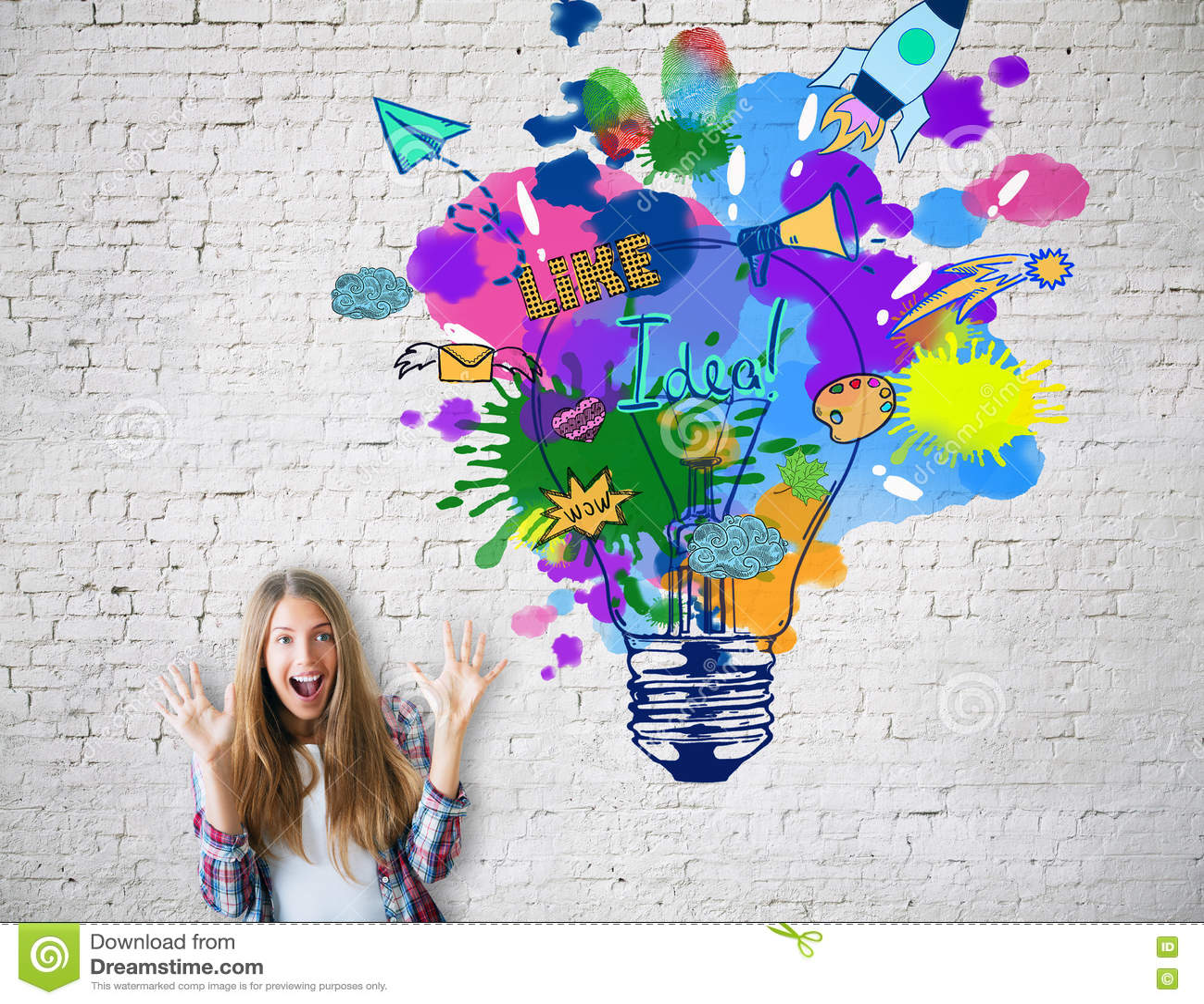 Concetto creativo di idea