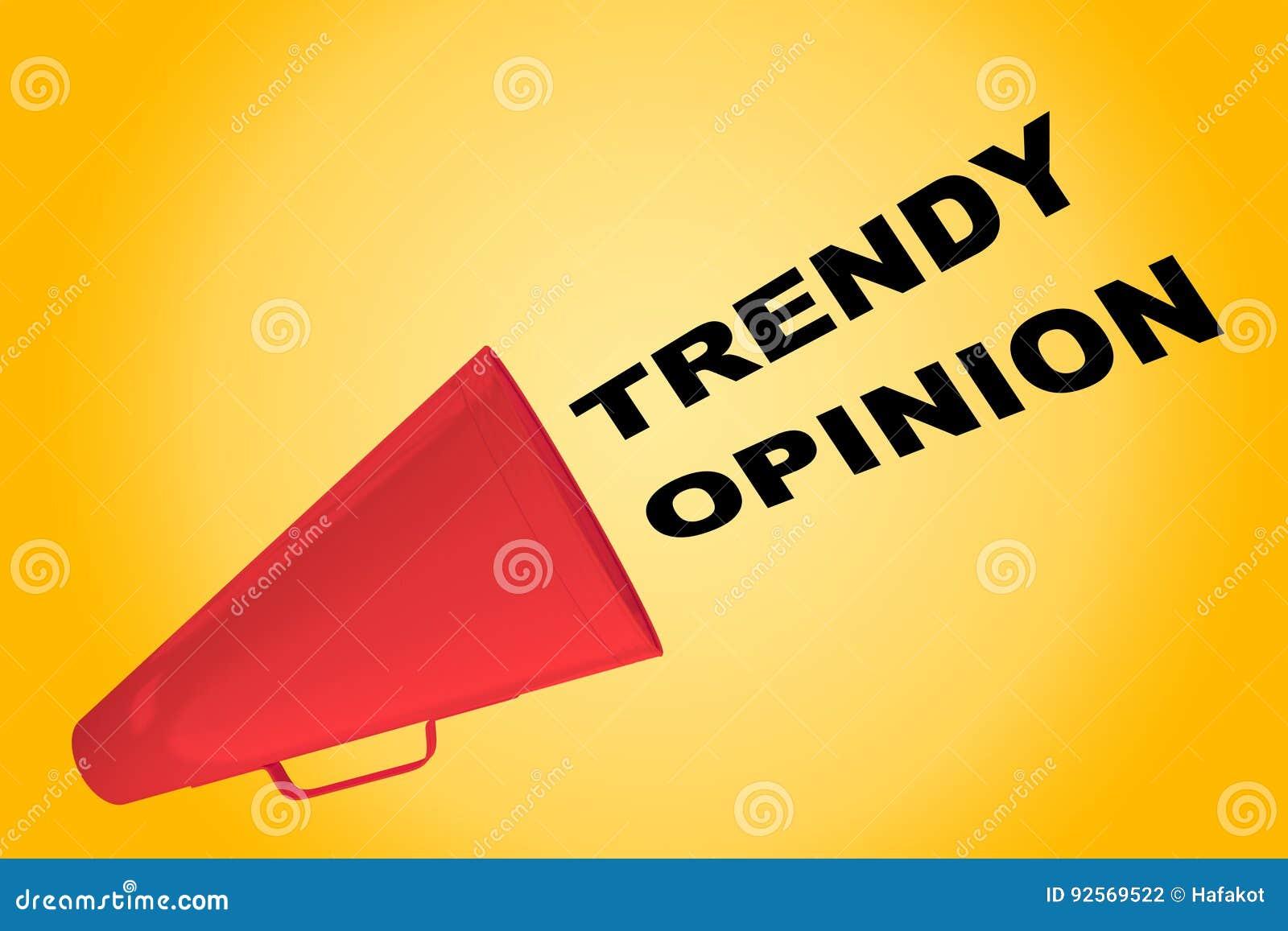 Concetto d avanguardia di opinione