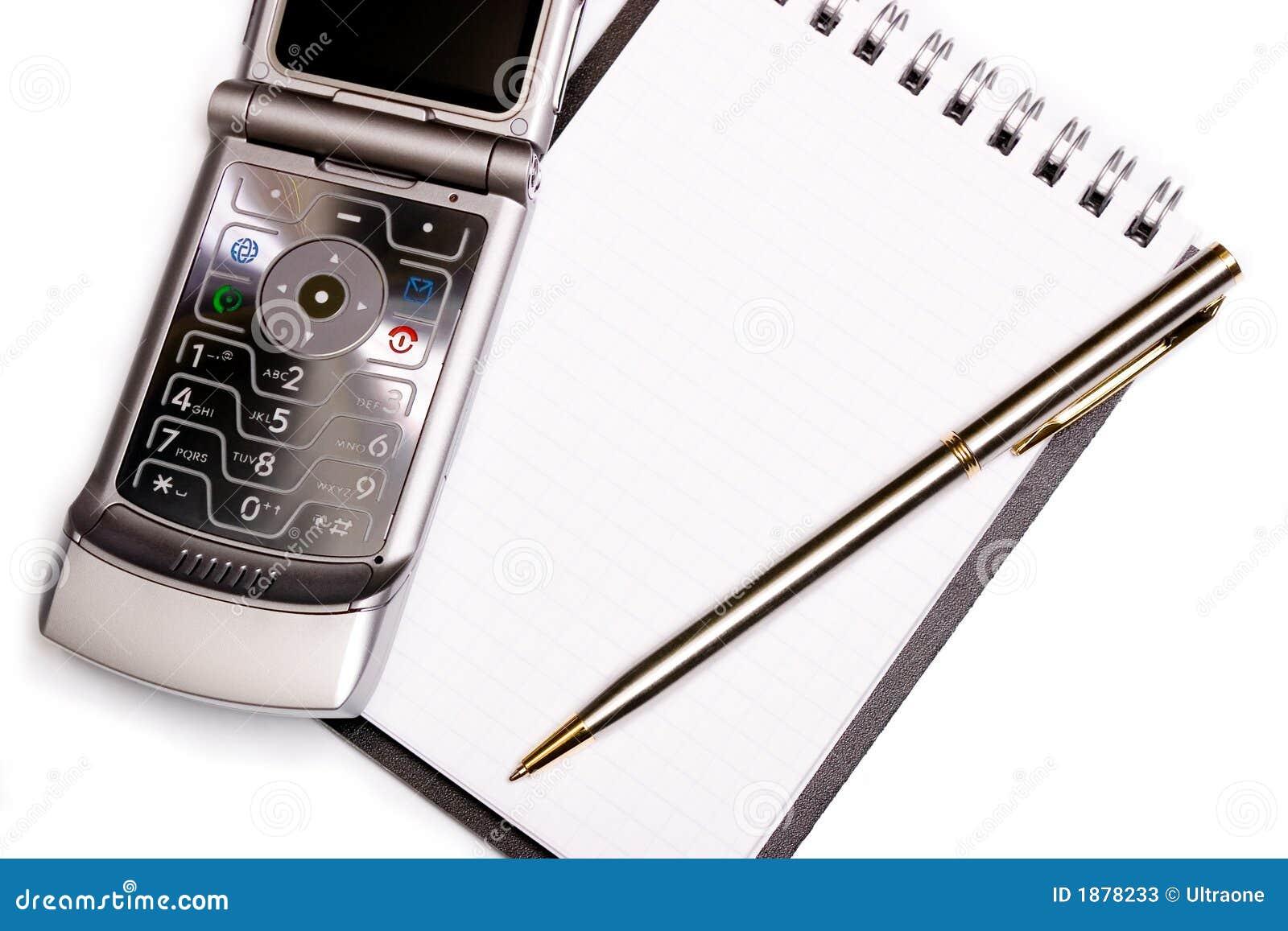 Concetto dei mobili d 39 ufficio taccuino a spirale penna for Stock mobili ufficio