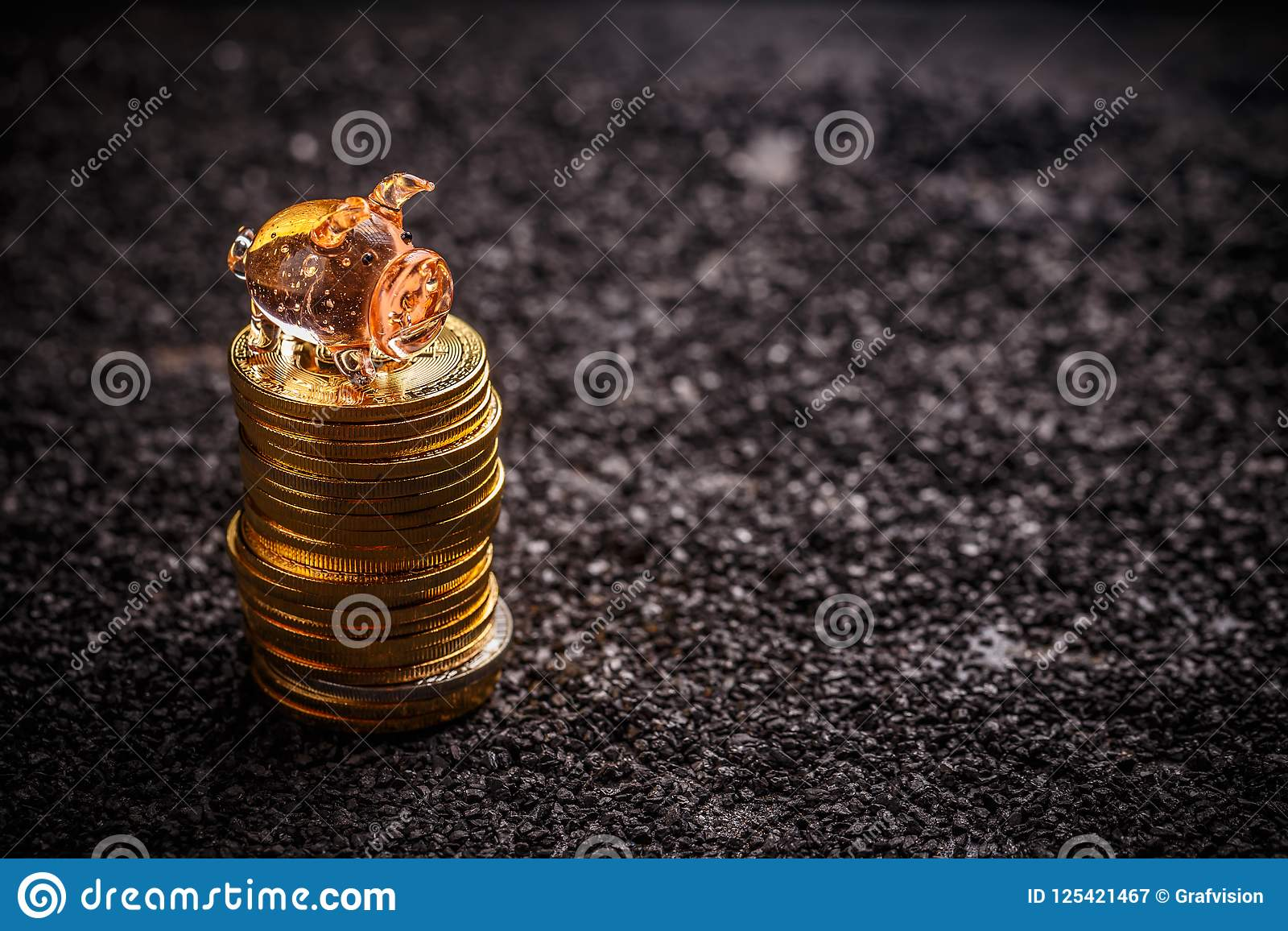 Concetto dei soldi di risparmio
