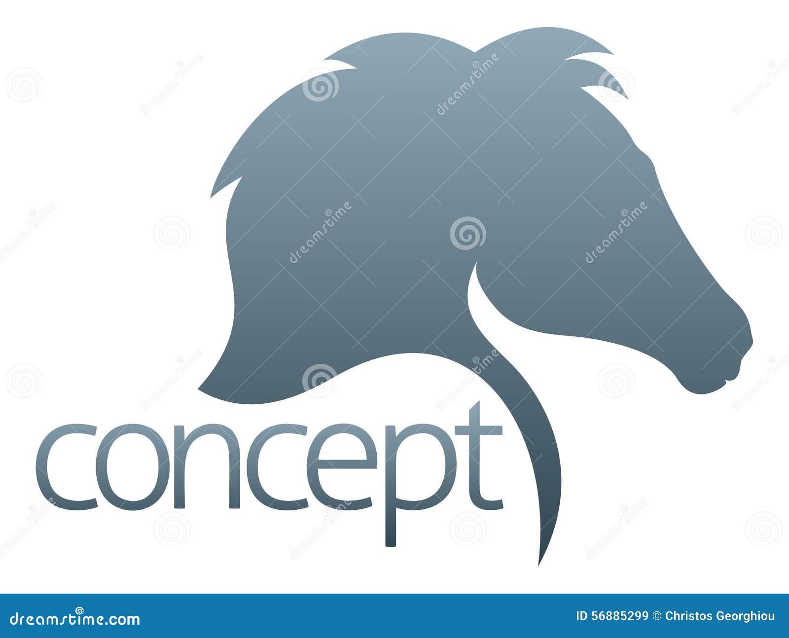 Concetto del cavallo
