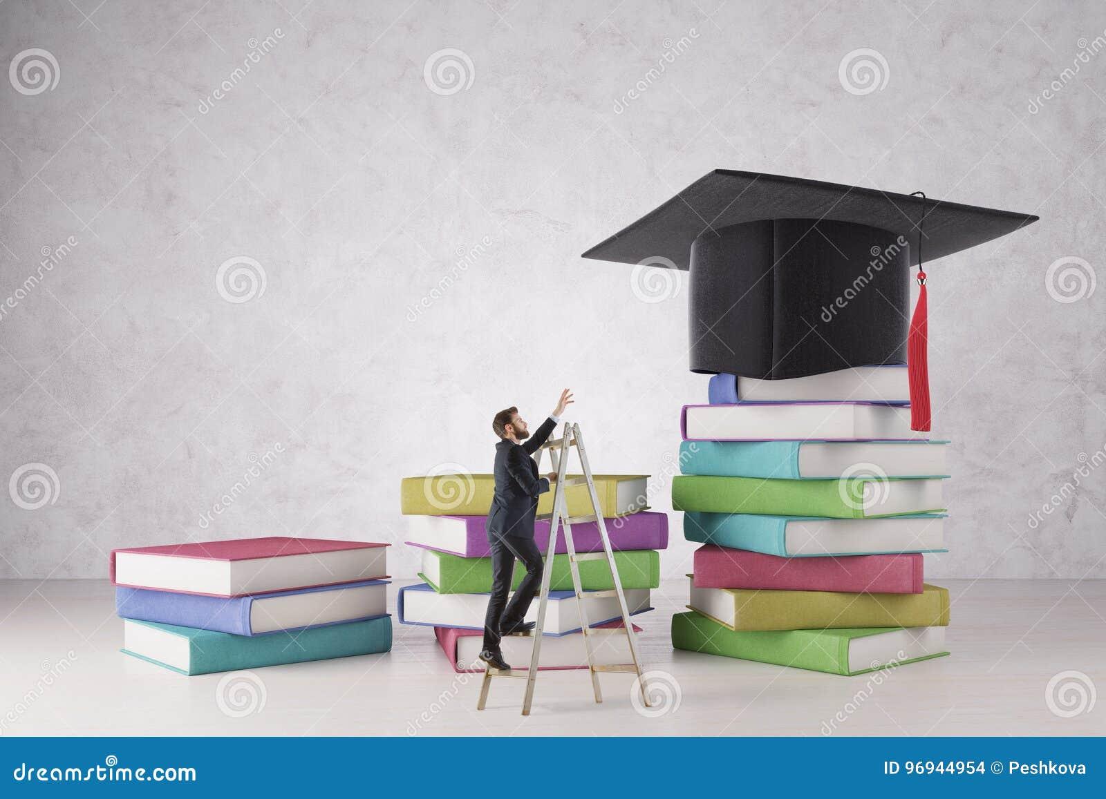 Concetto del duro lavoro e di istruzione