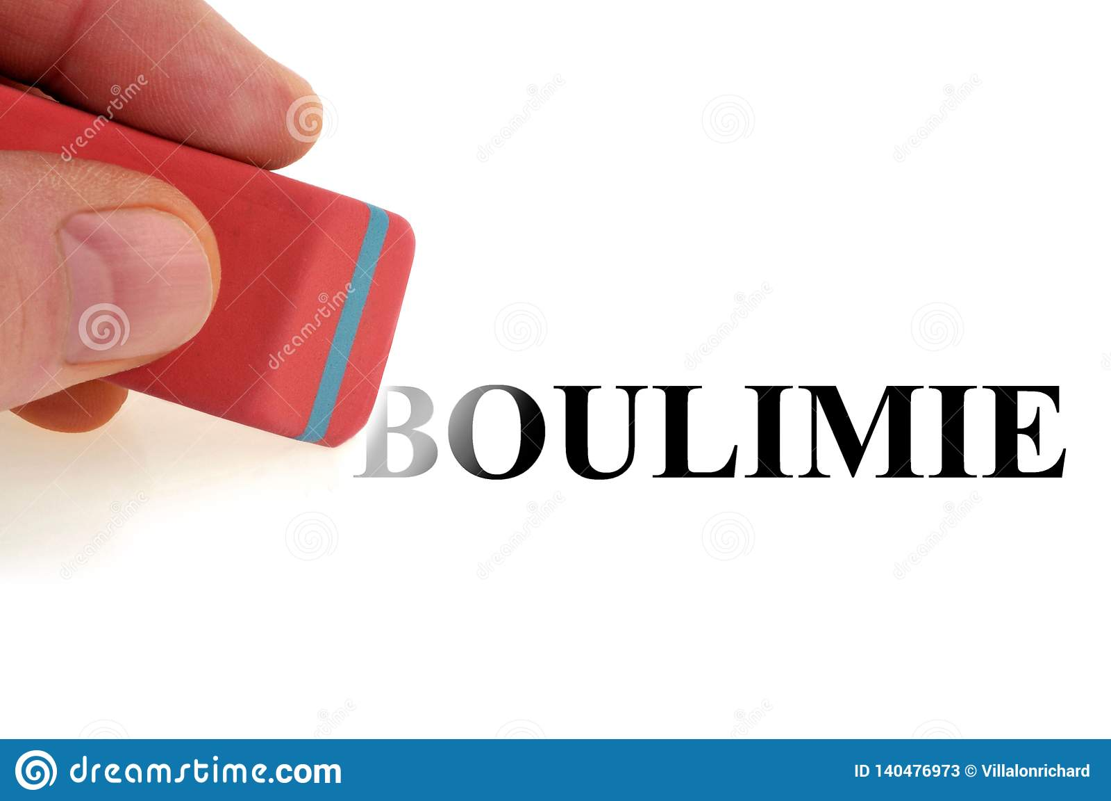 Concetto della cura di bulimia