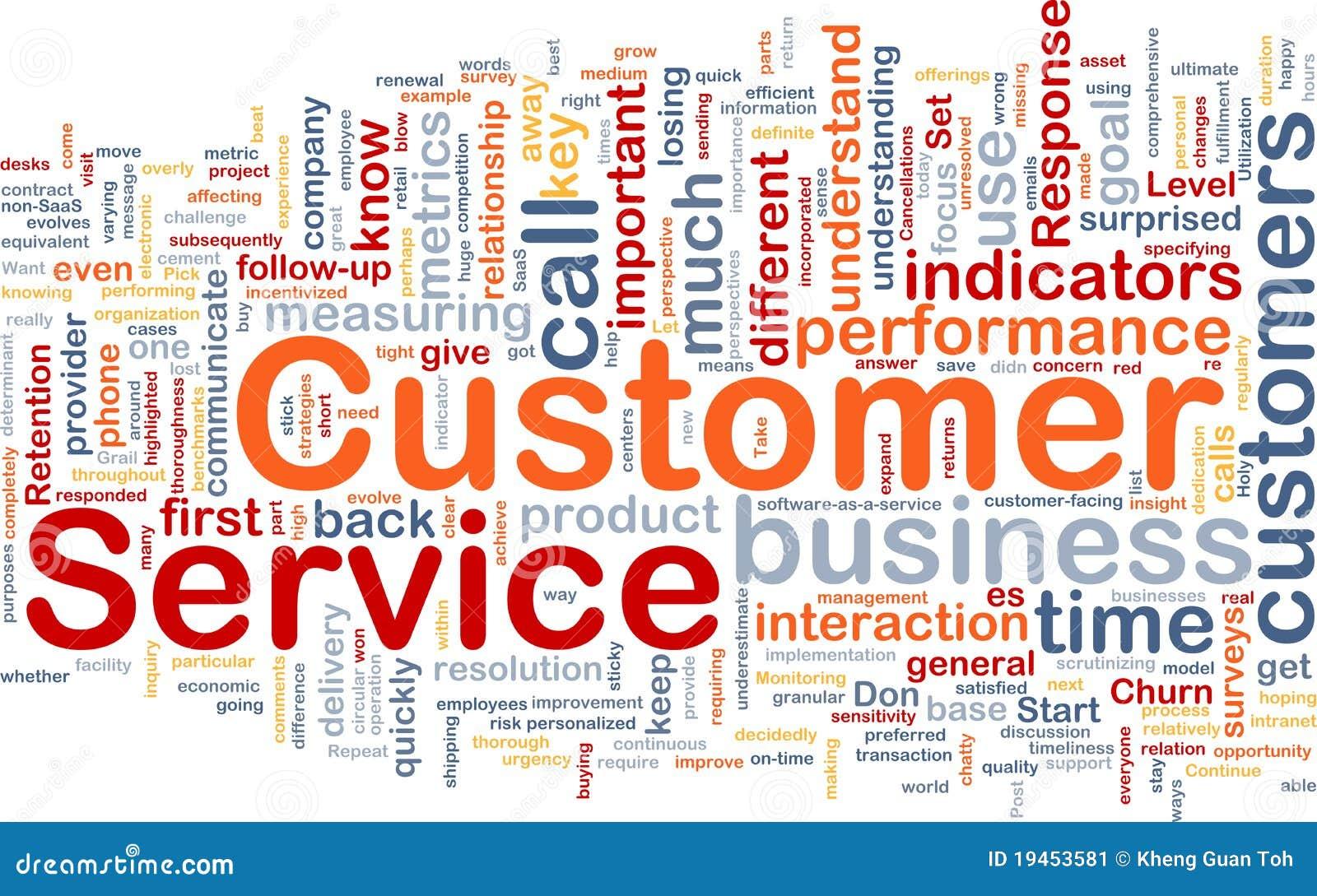 Concetto della priorità bassa di servizio di assistenza al cliente