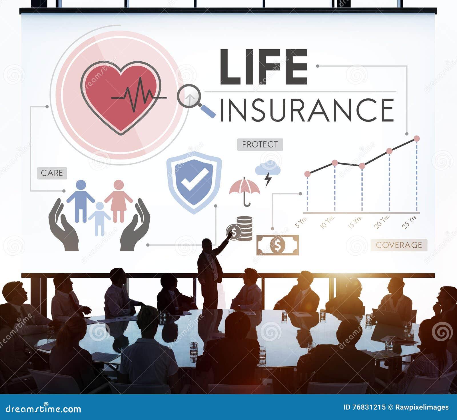 Concetto della salvaguardia del beneficiario di protezione di assicurazione sulla vita