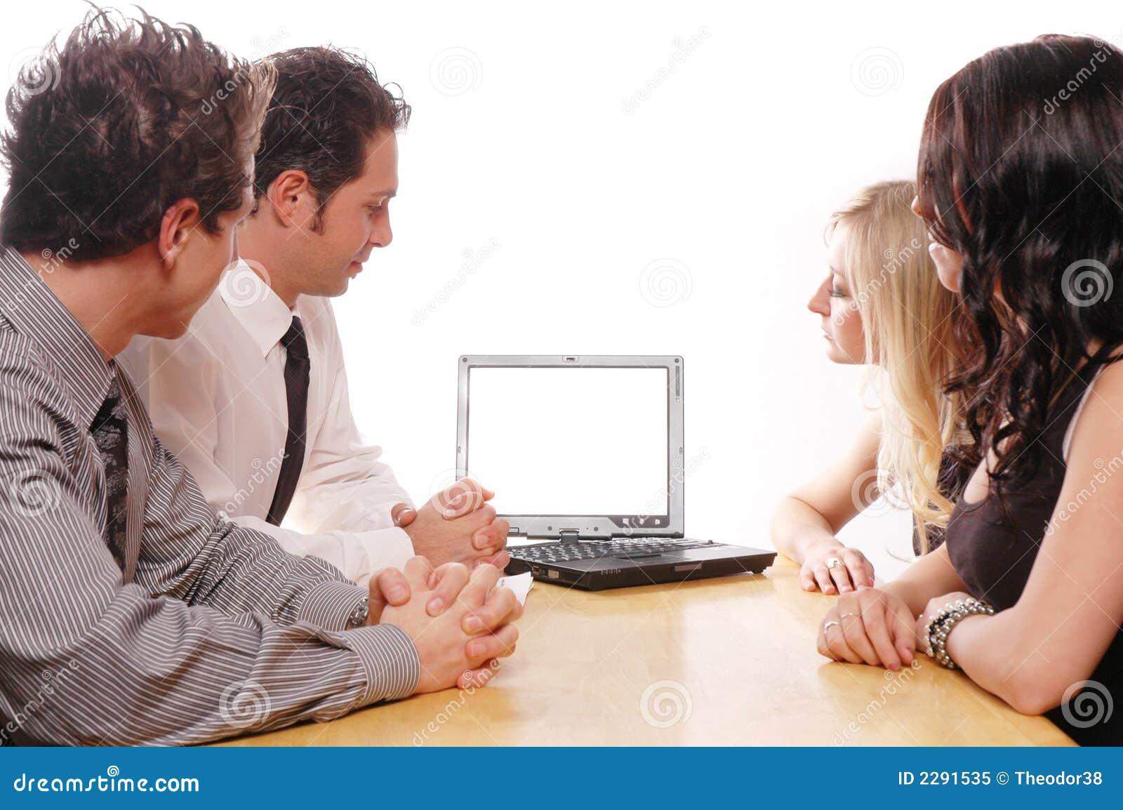 Concetto della squadra di affari