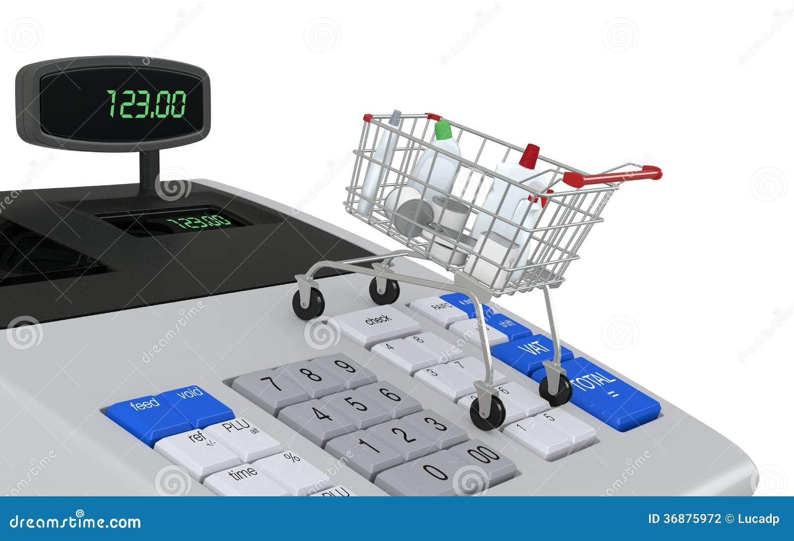 Download Concetto di acquisto illustrazione di stock. Illustrazione di verifica - 36875972