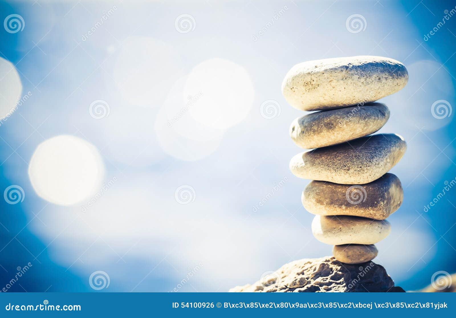 Concetto di benessere di ispirazione dell equilibrio retro
