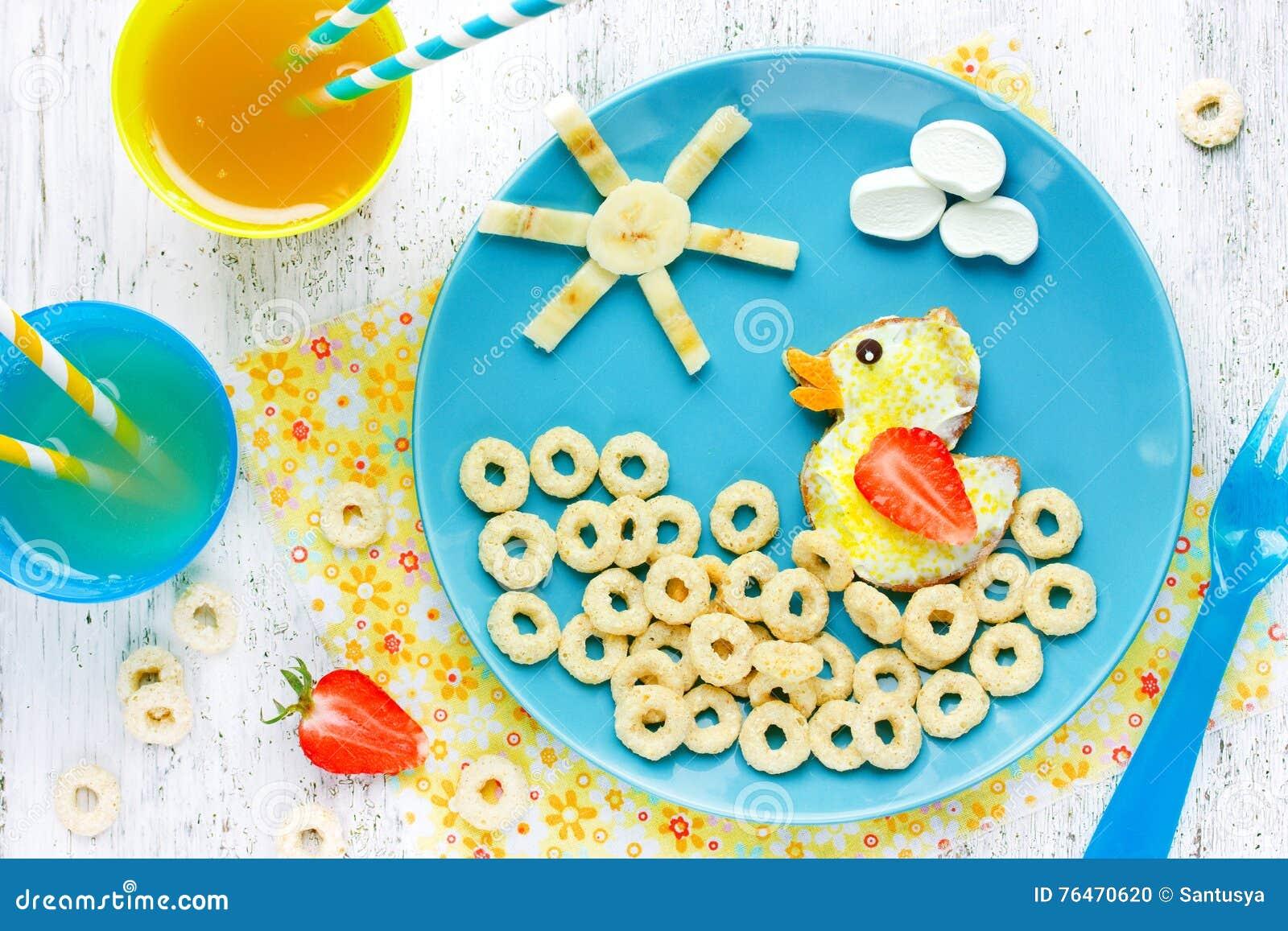 Preferenza Concetto Di Buongiorno, Idea Creativa Per L'alimento Dei Bambini  OZ52