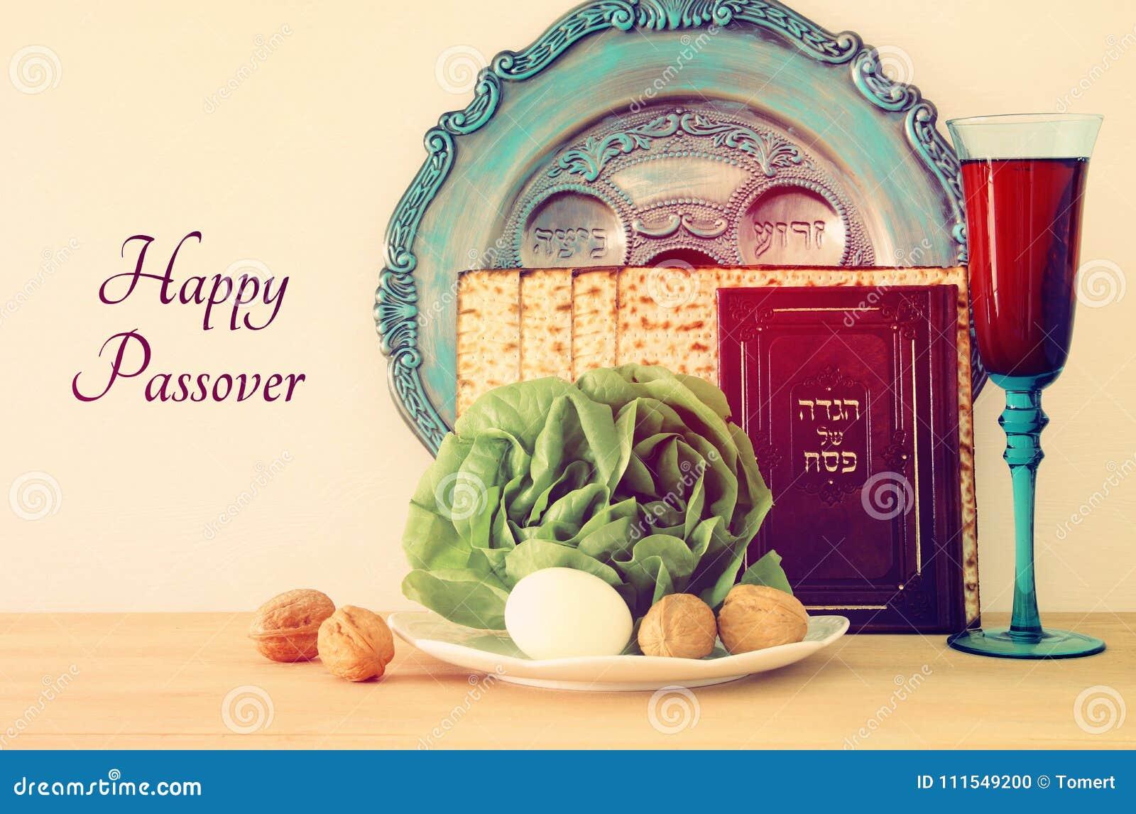 Concetto di celebrazione di Pesah & x28; holiday& ebreo x29 di pesach;