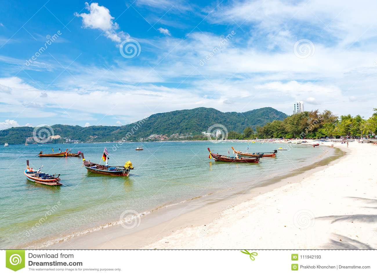 Concetto di estate, Phuket, Tailandia - gennaio 20,2018: variopinto della s
