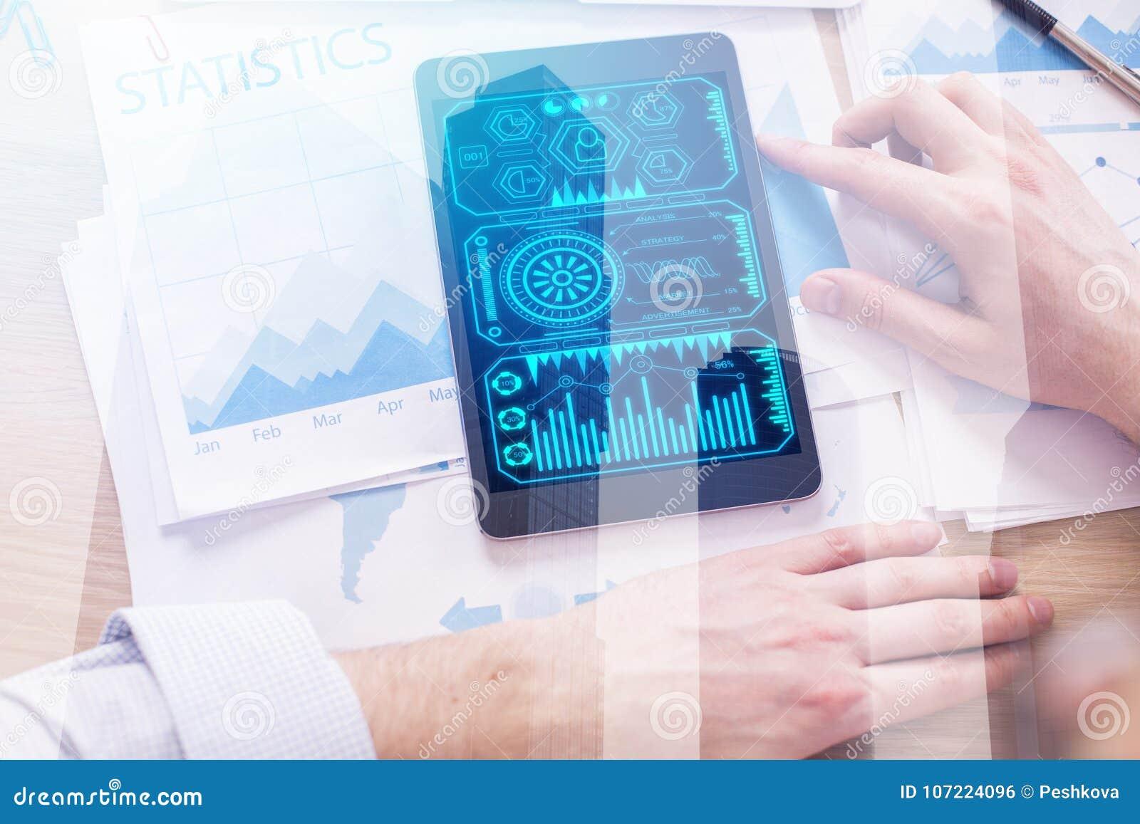 Concetto di finanza e di tecnologia