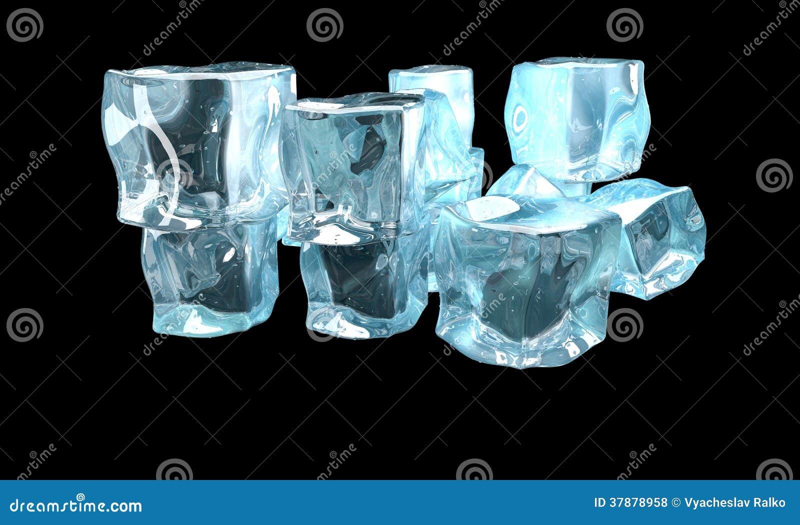 Concetto di ghiaccio