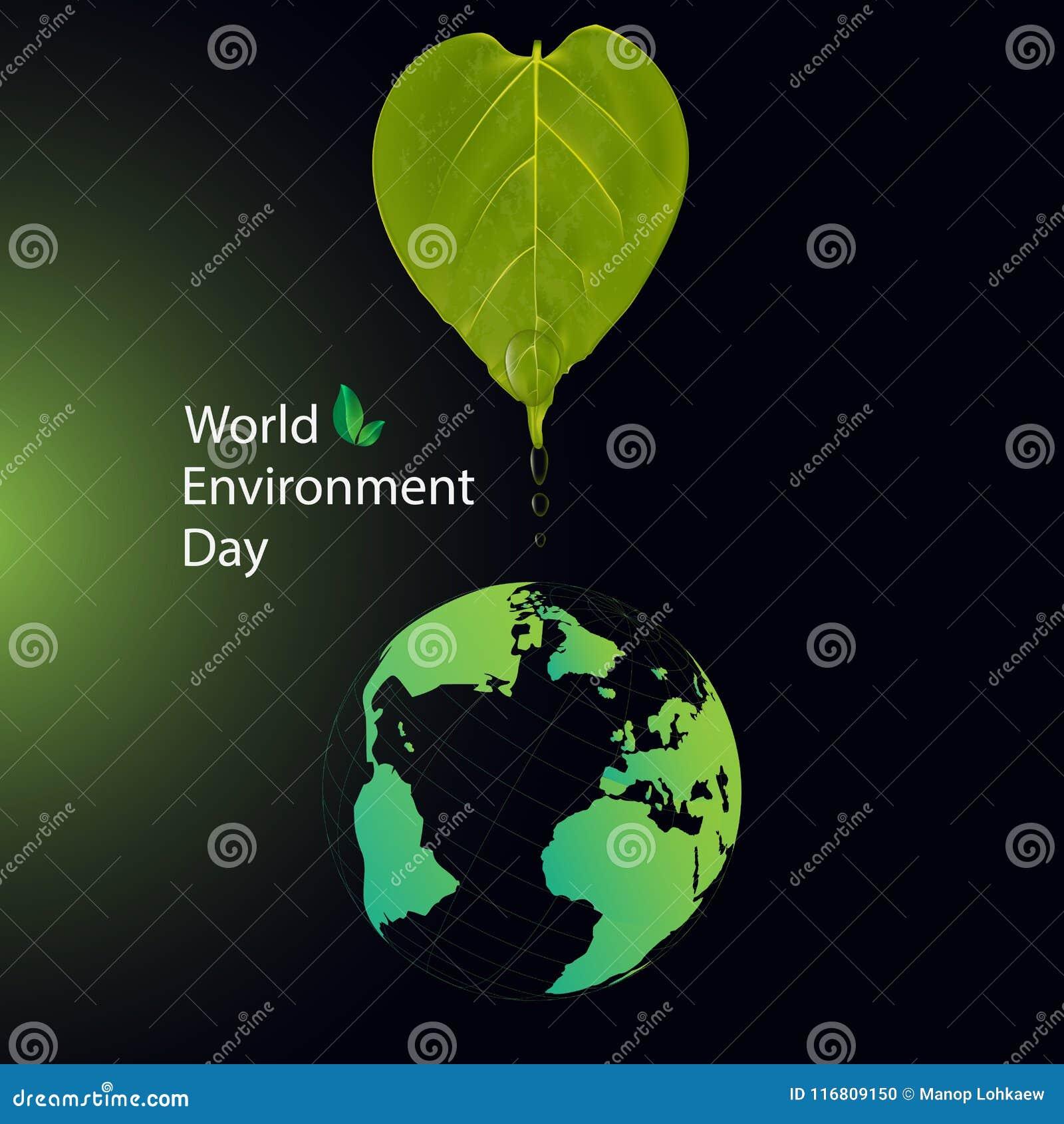 Concetto di Giornata mondiale dell ambiente