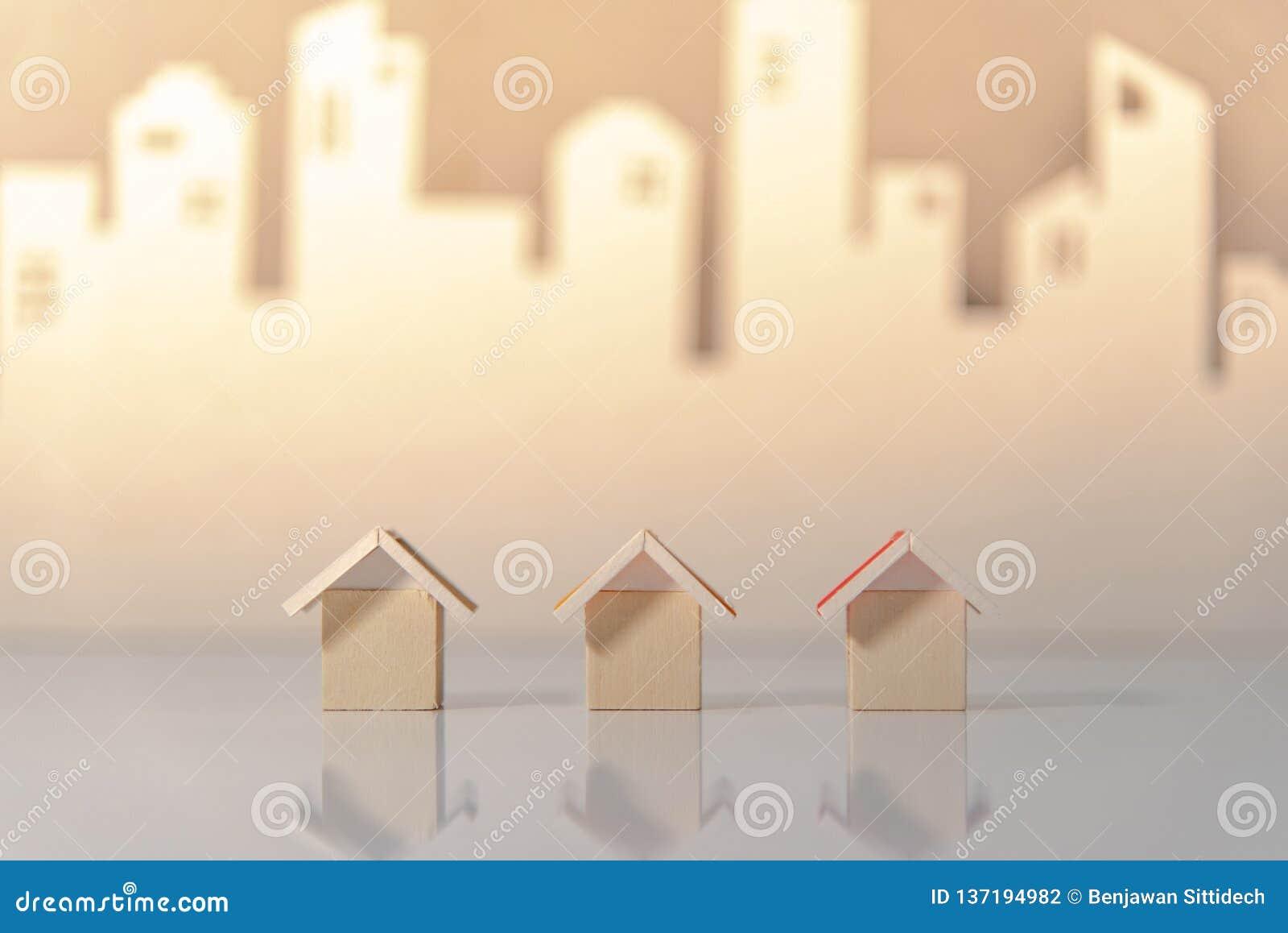 Concetto di investimento della proprietà o del bene immobile