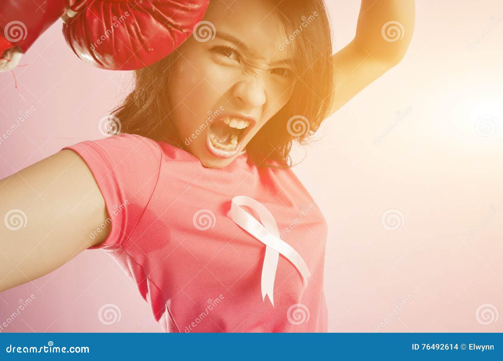 Concetto di lotta della donna