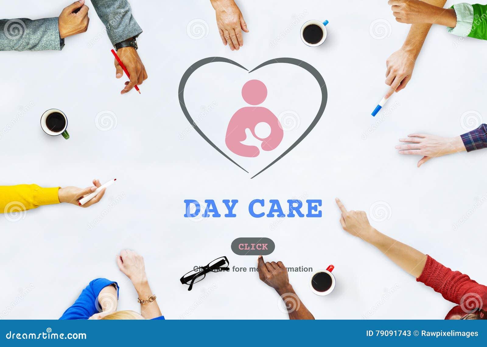 Concetto di Nursery Love Motherhood della babysitter della babysitter di babysitter