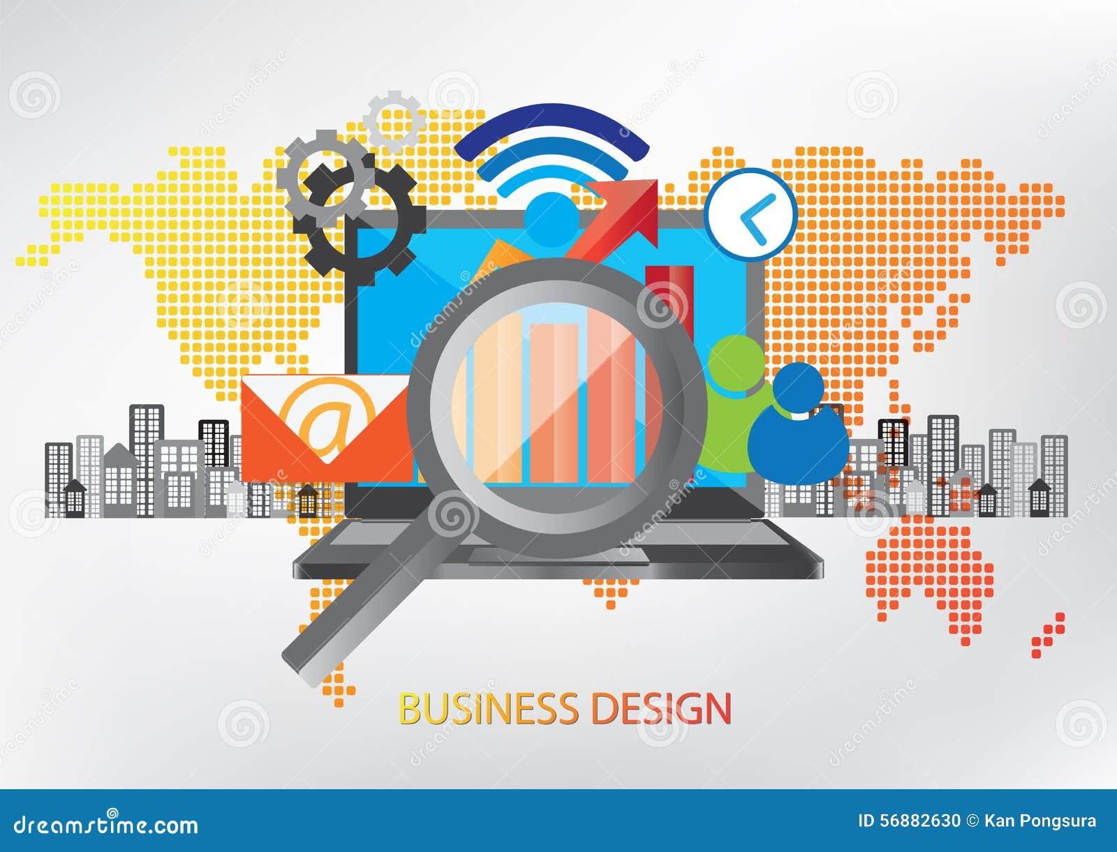 Concetto di progetto di tecnologia della comunicazione