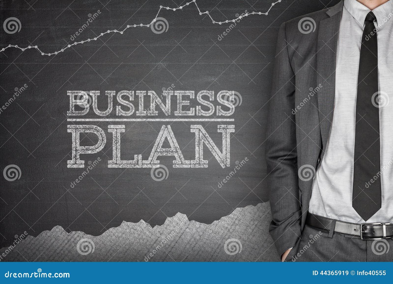 Concetto di strategia aziendale sulla lavagna