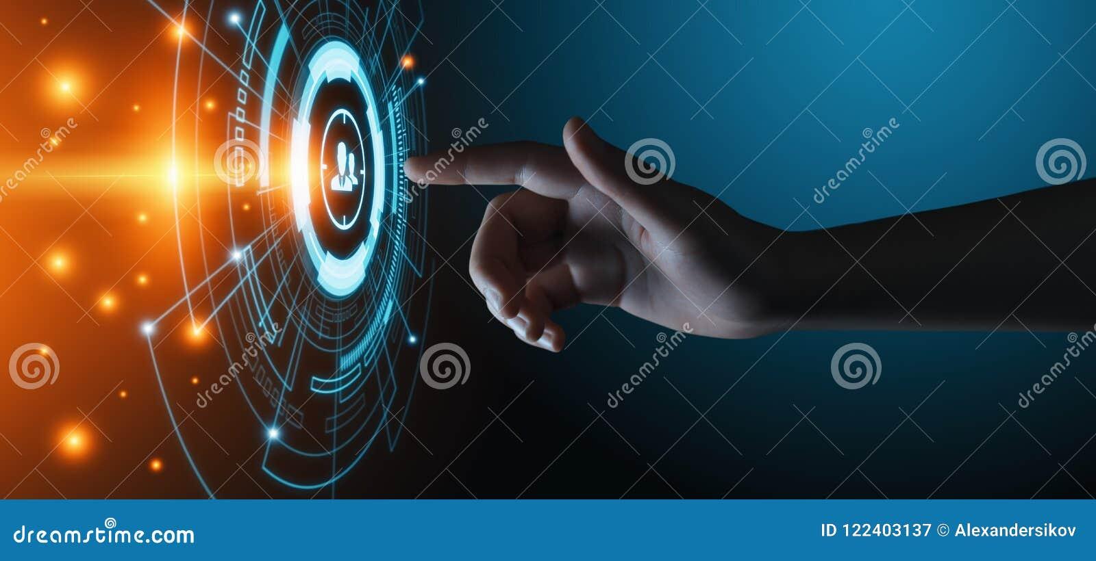 Concetto di tecnologia di affari di Internet di vendita dei destinatari